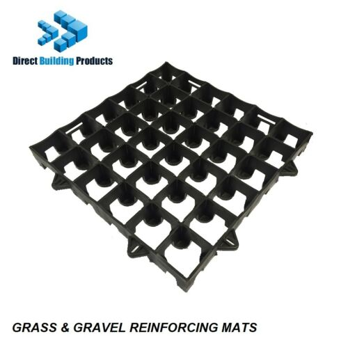 GRASS /& GRAVEL REINFORCING GRIDS 500 X 500 INTERLOCKING X  4 SQ METRES
