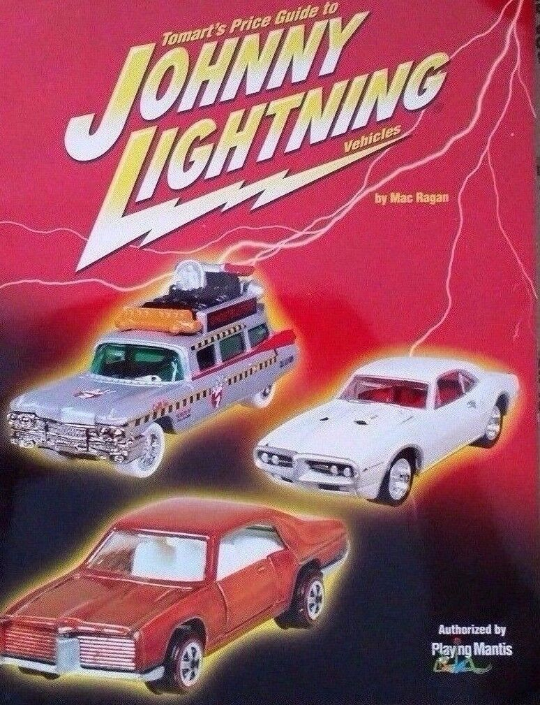 JOHNNY LIGHTNING 1st Edition Collector's Value Guide Book