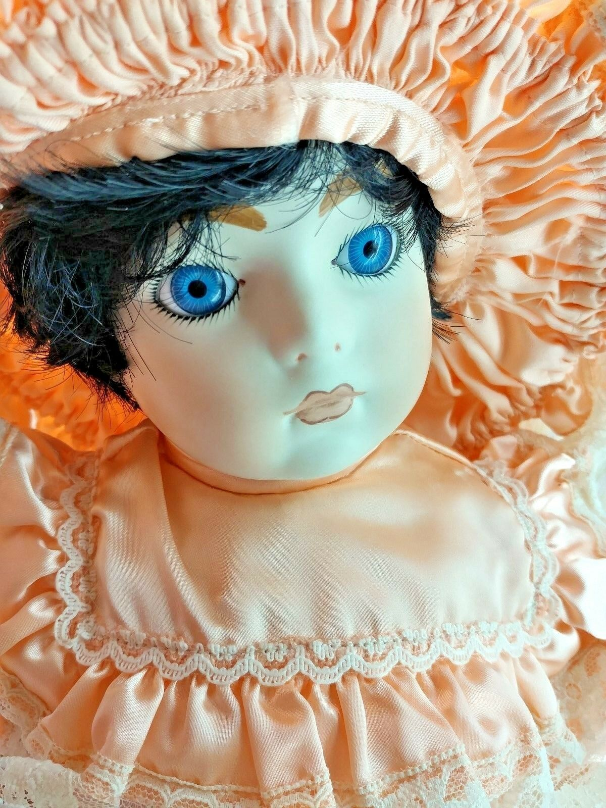 Francine CEE Vintage 1991 le 500 reproducción Sarah Grande 22  Completo Muñeca De Porcelana