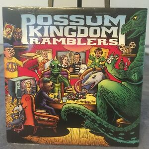Possum Kingdom Ramblers Debut CD! Sci-Fi Bluegrass! Fun! Godzilla