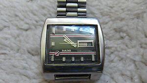 Rado-Manhattan-Automatik-Automatic-Vintage-Kultuhr-Rritaet
