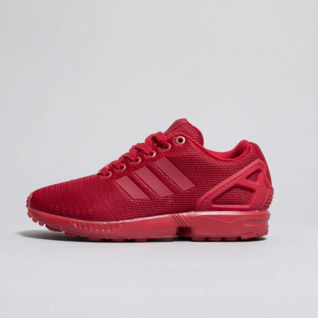the best attitude 0ebb5 05491 New ADIDAS Originals ZX Flux Yeezy Triple Red Torsion S32278 Running Shoes