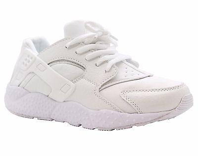 Unisex Chicas Chicos Sports Running Entrenamiento Gimnasio Amortiguador Zapatillas Zapatos Talla