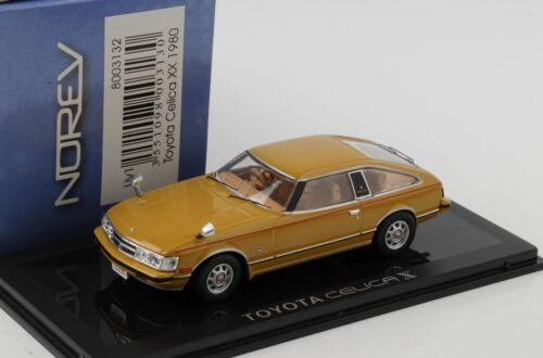 Toyota Celica x 1980 1:43 norev DIECAST nuevo