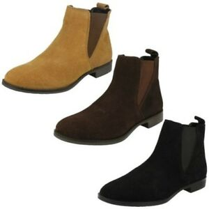 Mujer-Leather-Collection-Tobillo-039-Botas-039