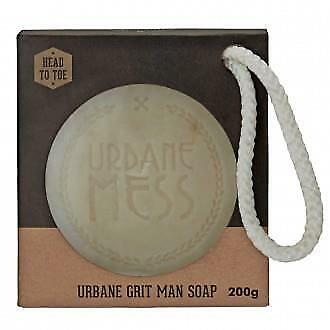 URBANE MESS Exfoliating Soap on a Rope 200g, for men: great product!
