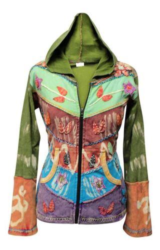 Women Grunge Emo Goth Hippie Boho Punk Gypsy Women Festival Hoodie Retro jacket