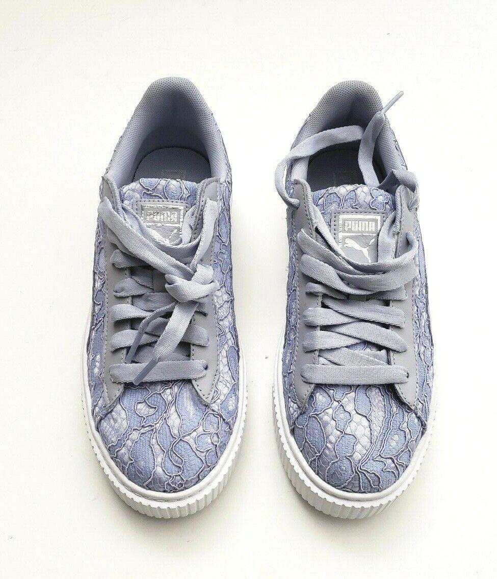 Puma Donna  Basket Platform Fo Fashion Fashion Fashion scarpe da ginnastica Icelandic blu Dimensione 7.5, 8.5, 9 f061d6