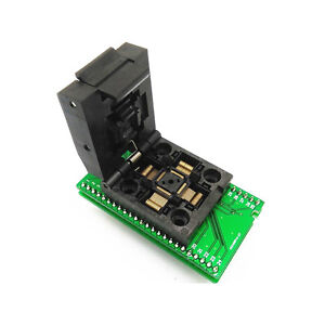 1PCS-TQFP48-QFP48-To-DIP48-SA248-IC-Programmer-Adapter-Clamshell-Test-Socket-CA