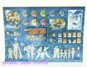 Details about Detective Conan 2019 Official Movie Stickers Sheet THE FIST  OF BLUE SAPPHIRE