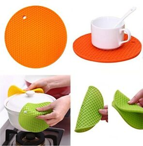Silicone-Heat-Resistant-Mat-Kitchen-Trivet-Pot-Pan-Holder-Non-Slip-Placemat-Pad