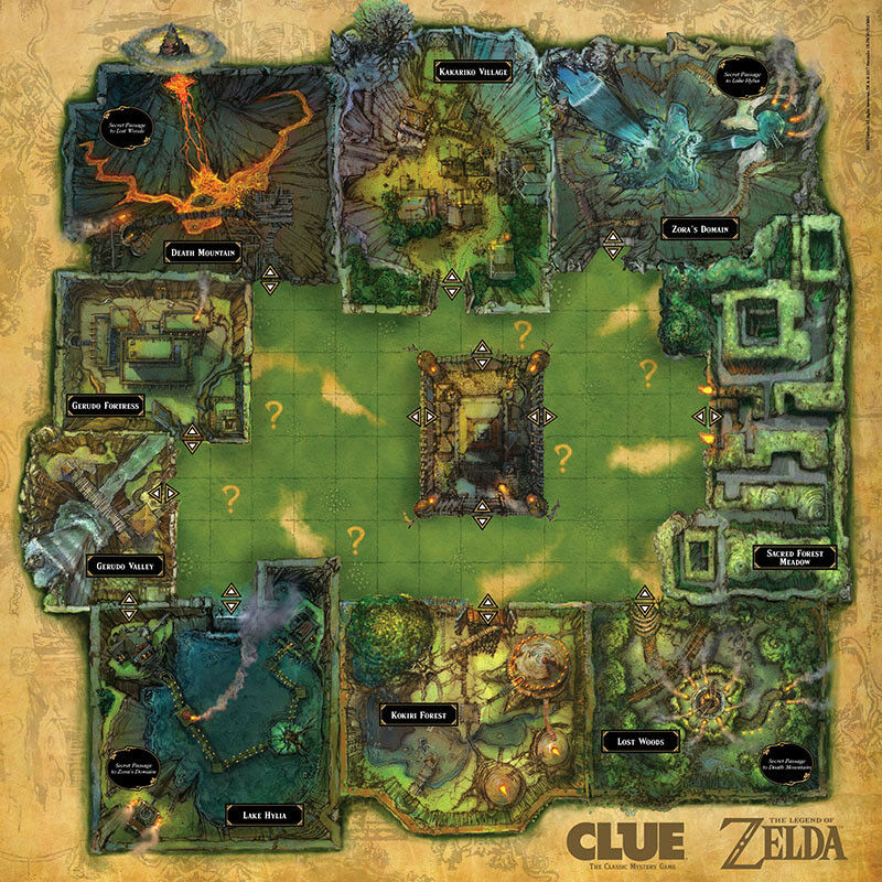 OFFICIAL NEW Legend of Zelda Collector/'s Edition Clue Board Game