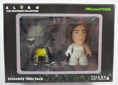 "Pre-Suit Ripley /& Acid Alien Alien Titan 3/"" Vinyl Figure 2-Pack"