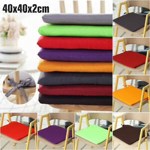 Tie-on-Chair-Cushion-Pads-Seat-Patio-Indoor-Outdoor-Garden-Dining-Furniture-Yard