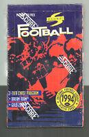 1994 Score Football Factory Sealed Box Rare & Mint- Marshall Faulk Rookie