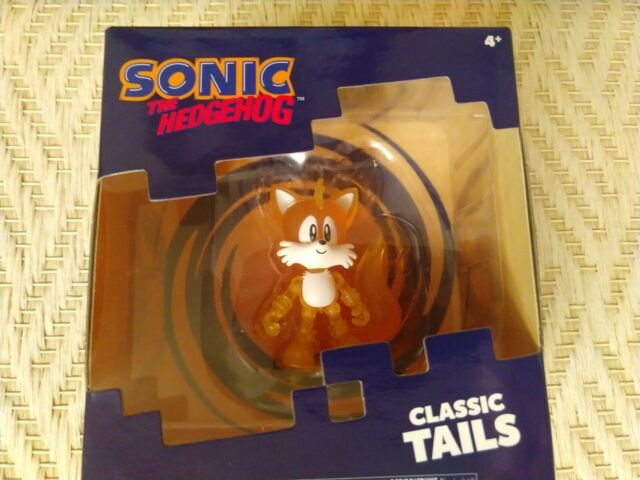 Sonic The Hedgehog Tomy Classic Tails Translucent Figure 2 For Sale Online Ebay