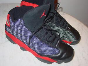 262adcc12ab 2004 Nike Air Jordan Retro 13 Black True Red Basketball Shoe Size 13 ...