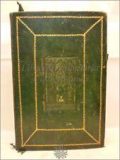 LEGATURA ALLA CATTEDRALE Messale '800 MISSALE ROMANUM 1851 Napoli Tavole Musica