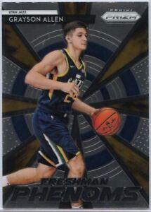 Grayson-Allen-Freshman-Phenoms-Rookie-Card-2018-19-Prizm-Basketball-21-Utah