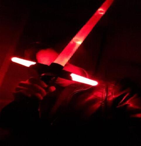 Star Wars 7 The Force Awakens Kylo Ren Black Red LED Light lightsaber
