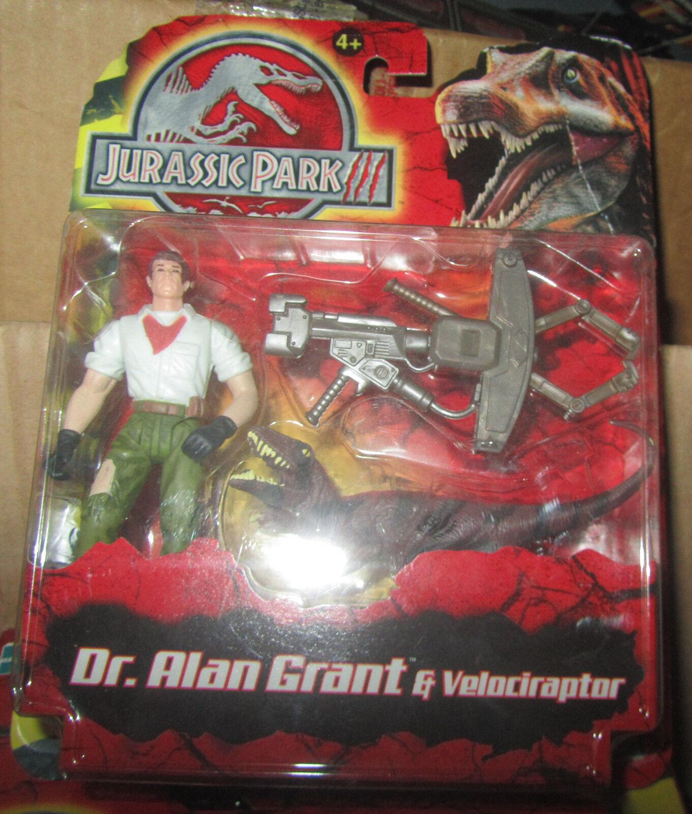 Jurassic Park 3 III DR. Alan Alan Alan Grant e Velociraptor MOC e7b7ae
