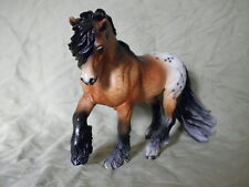 Breyer Horse Statue OOAK CM/Custom Fell Pony Dappled Bay Appaloosa