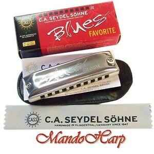 Seydel-Harmonica-15201-Blues-Favorite-SELECT-KEY-NEW