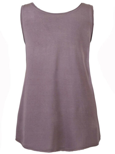 NEW ex Simply Be GREY Pink Embellished Chiffon Panel Vest size 18 20 24 26 28 30