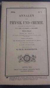 Rivista-Beiblatter-N-7-Zu-Den-Annalen-Der-Physik-Und-Chemie-1894-Lipsia-Verlag