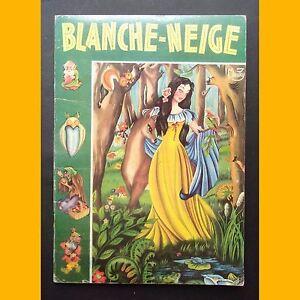 BLANCHE-NEIGE-ET-LES-SEPT-NAINS-Grimm-Maury-1955