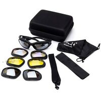 Classic Sports Safety Goggle Interchangeable Lens With Hard Case For Any Season