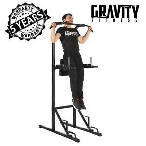 GRADE-B-Gravity-Fitness-Power-Tower-Pull-Up-Rack