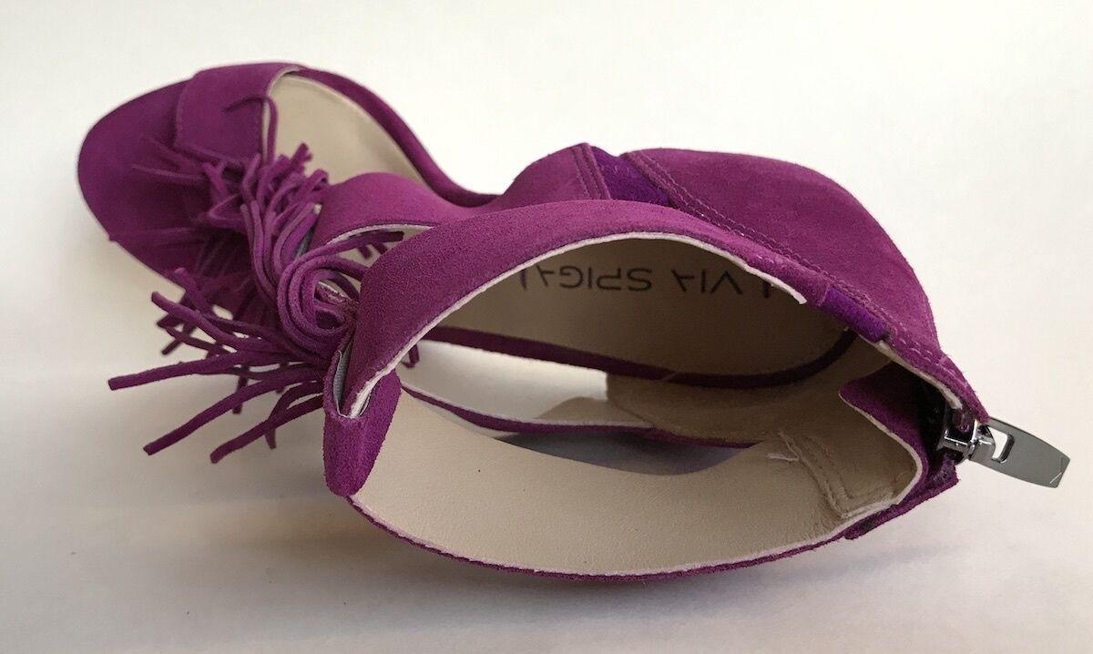 Via Spiga New Eilish Purple Damenschuhe Schuhes Größe 8.5 Heels M Heels 8.5 MSRP 275 c0c6c6