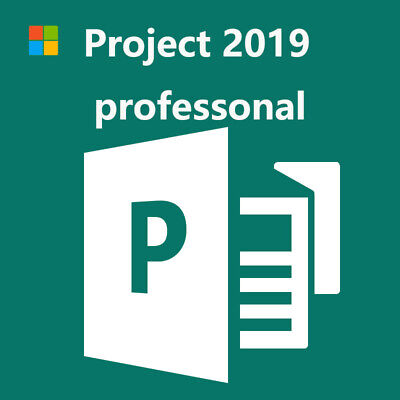 Microsoft Project 2019 Professional Genuine Product Key For 1 Pc Ebay