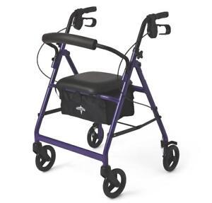 Medline-Basic-Aluminum-Rollator-with-6-034-Wheels-Purple