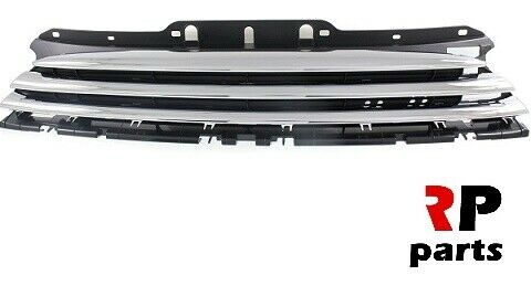 Pour Mini Cooper One 07-11 DIESEL NEUF Front Upper Center Grille Chrome