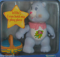 Vintage Poseable Care Bear Figure 1984 Kenner Grams Toy Accessory Complete