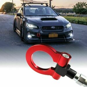 Details about Red Track Racing CNC Aluminum Tow Hook For Subaru Outback  05-2019 Impreza 17-19