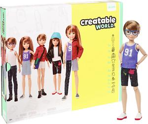 Creabile World GGG53 Deluxe Kit di carattere personalizzabile Bambola gioco creativo per