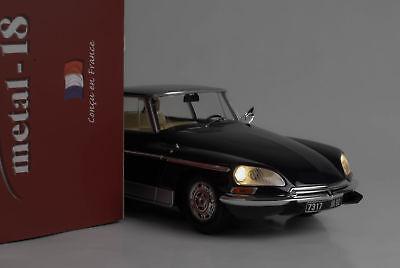 1968 Citroen DS21 DS 21 Chapron Le Lemans dunkelblau + Lichtfunktion  1:18 Norev
