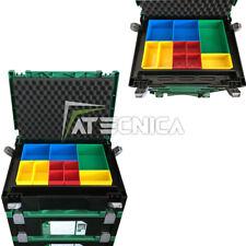 Valigetta porta minuterie organizer con 10 vani estraibili Hitachi Stackable
