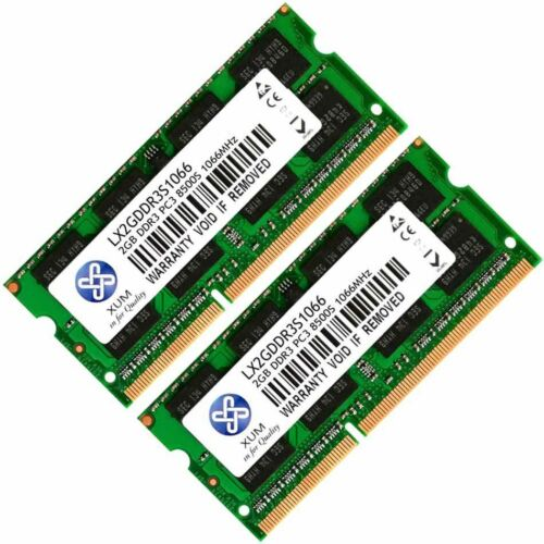 Memory Ram 4 Toshiba Satellite Pro Laptop L670-EZ1715D New 2x Lot DDR3 SDRAM