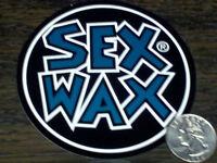 Green Sex Wax Surf Sticker Mr Zogs Car Decal 3-1/2 Round Window Vinyl 9 Cm