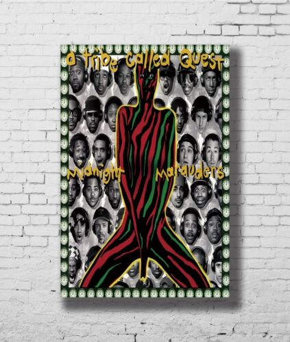 24x36 14x21 40 Poster A Tribe Called Quest Midnight Marauders Art Hot P-881