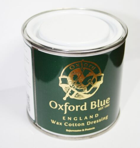 per in bagno in blu 5050012800025 cerate tutto per giacche Vasetto e Re cera 200ml latta Condimento da Oxford da cotone qwS1Inx6xv