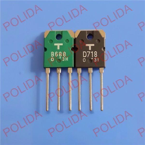 1pairs OR 2pcs 2SB754//2SD844 B754//D844 Transistor TO-3P