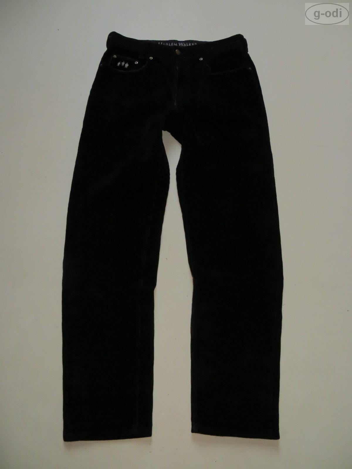 JOKER Jeans Harlem Walker Cordhose W 33  L 34 Schwarz Hochwertig & Robust RAR