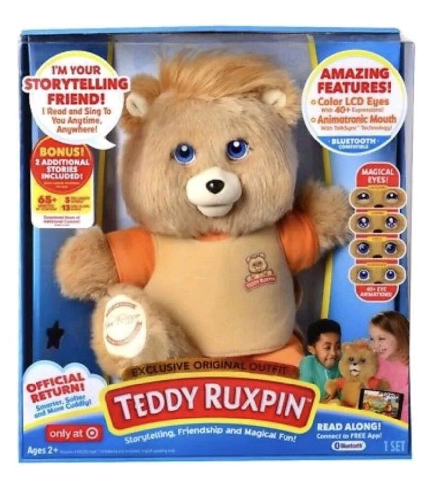 Teddy Ruxpin Interactive Teddy Bear Doll US Seller New 2017 Target Exclusive Toy