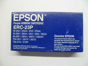 Originale-EPSON-Nastro-ERC-23-ERC-23P-Viola-M-250-M-255-M-260-M-280-TM-270-Conf