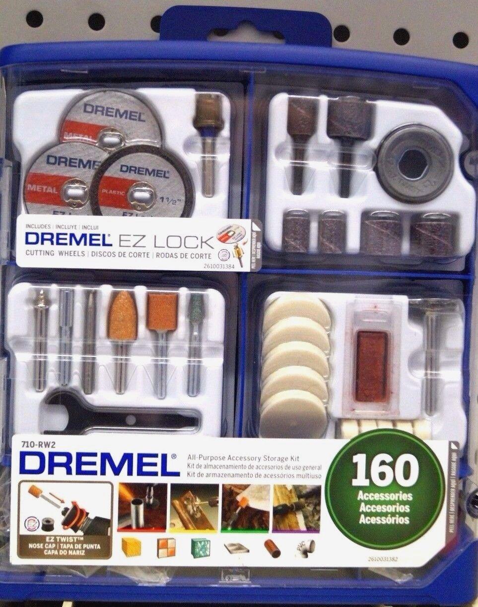 DREMEL 710-RW2 All Purpose Accessory Storage Kit 160 Accessories